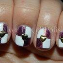 Studded Checker Nails
