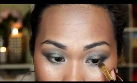 Smokey Green Eye Tutorial (Rimajol 2014)