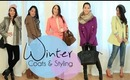 Styling Winter Coats & Layering