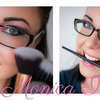 Final pictures for my blog header (make up and photo by me)
