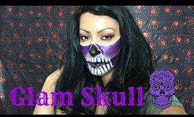 Glam Skull | Halloween Makeup Tutorial
