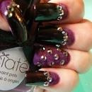 velvet manicure  Ciaté / cabaret AND  VENIQUE /DOWN THE CHIMNEY