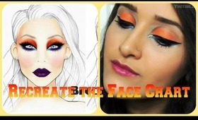 RECREATE: Face Chart TUTORIAL**