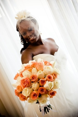 The bride Stephanie - Sept 2011