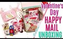 Valentines Day Happy Mail Unboxing ft Chasing Creativity & Valentines Day Tag Flip Embellishment Box