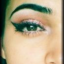 glam eye make-up
