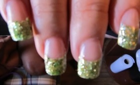 Mary Jane nail design