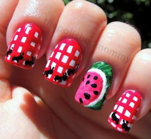 http://www.thepolishedmommy.com/2012/07/the-ants-go-marching.html#