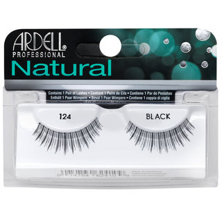 Natural Lashes 124 Black