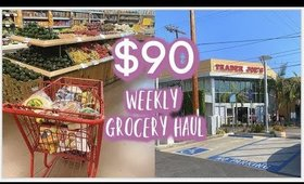 $90 WEEKLY GROCERY HAUL + MEAL IDEAS
