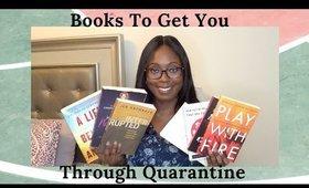 BOOKS TO READ DURING SELF-ISOLATION - QUARANTINE DIARIES