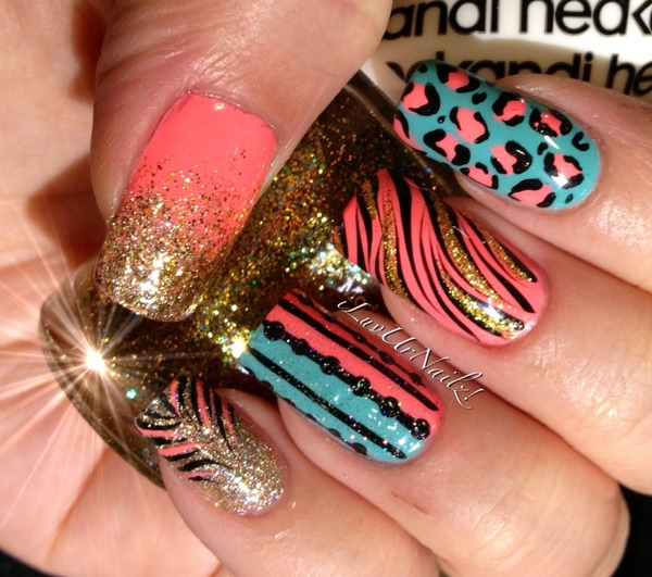 An Elaborate Mix Iluvurnailz J S Iluvurnailz Photo Beautylish