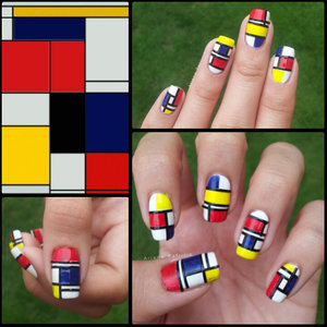 This was inspired by Piet Mondrian's Composition :)