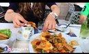 فلوق: غداء عائلي عند كريس كروس | Vlog: Friday Lunch at Kris Kros