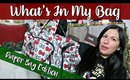 WHAT'S IN MY (DIAPER) BAG | Vlogmas Day 9