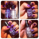 Purple Potion Nails Fall Look
