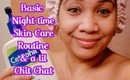 Get UNREADY With Me: Night time Skin care Routine & Makeup Removal + Chit chat | Honey Kahoohanohano