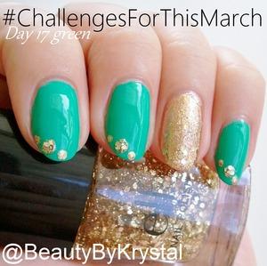 polish list: http://www.beautybykrystal.com/2013/03/march-nail-challenge-day-17-green-st.html#