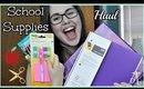 School Supplies Haul   2014