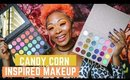 TUTORIAL: Candy Corn Inspired Makeup with Cutie Pop
