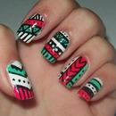 Aztec Nail Art!!