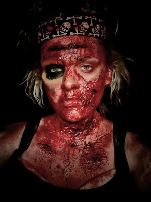 EXTREME SPECIAL EFFECTS MAKEUP Commando Zombie