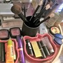 Goss brushes take center stage on my makeup table