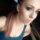 Turquoise bronze eyes