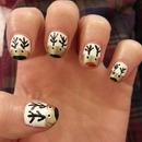 My festive nails