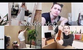 Virtual Photoshoot + home updates| Weekly Vlog #149
