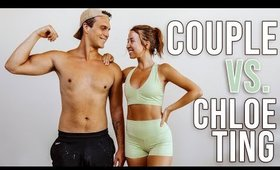 COUPLE TRIES CHLOE TING 1000 REP WORKOUT!