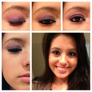 Purple iridescent look by Alli