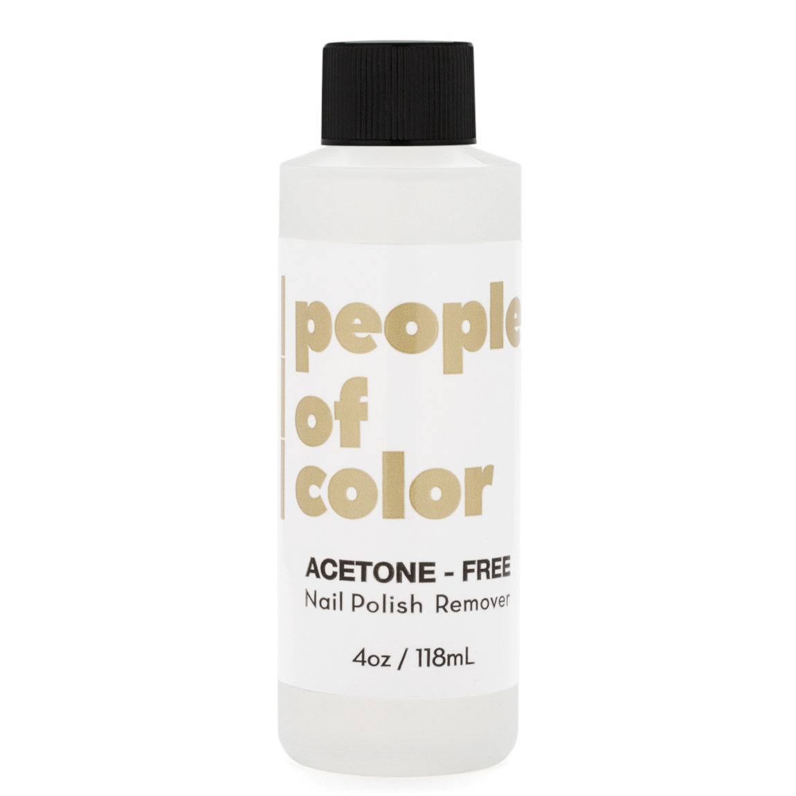 People of Color Beauty Acetone-Free Nail Polish Remover alternative view 1 - product swatch.