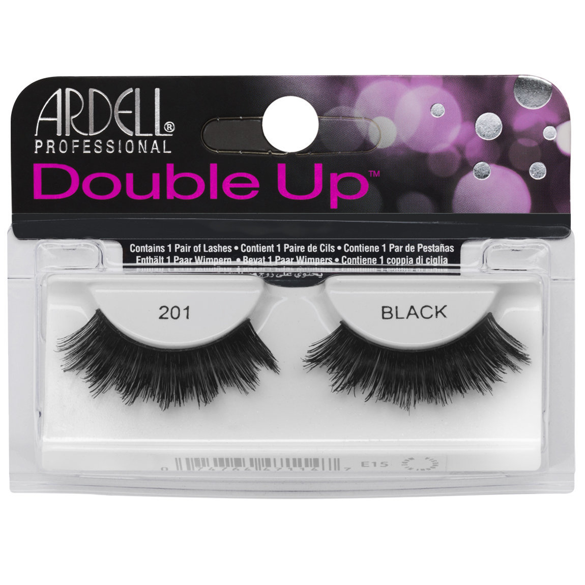 Ardell Double Up Lashes 201 Black alternative view 1.