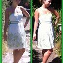 Summer Dress, no makeup and hair did!