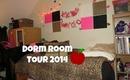College Dorm Room Tour 2014 (+ Valentine's Day Decorations!)