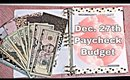 Budget with Me//Paycheck to Paycheck//Dec. 27th