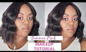 Summer Makeup ft @thegamhousecollection wig