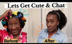 GRWM Chit Chat  Real 4c Hair Clip-Ins, 4c Haircare Mistakes & Tips, Grow Long Hair Obsessed Are You?