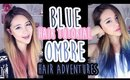 Hair Adventures | Blue Ombre Tutorial | The Wonderful World of Wengie