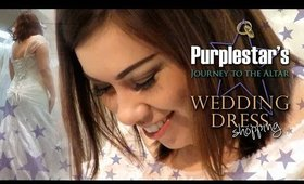 Purplestar's Journey to the Altar-WEDDING DRESS Shopping!