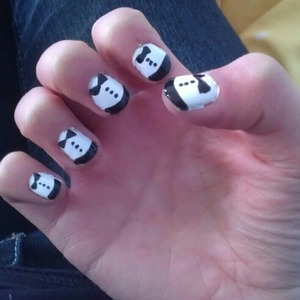 for a dressy occassion or if you want cute nails. done by my amazing sister