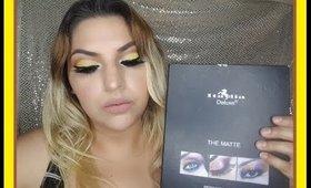 maquillaje con paleta italia deluxe