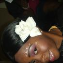 A Floral Bride