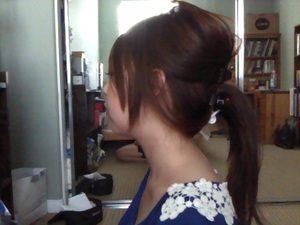 quick & easy summer up-do