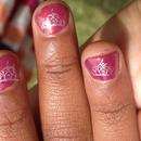 Little girls' princess nails :)