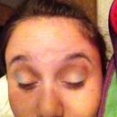 Did my friends makeup smokey dramatic eye