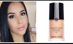 Giorgio Armani Foundation For Oily/Combination skin | Review & Demo