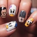 Cute Disney mani