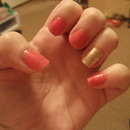 Coral and Gold :)
